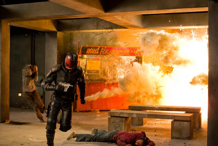 """Karl Urban la nueva cara de """"Dredd"""" en el cine."""