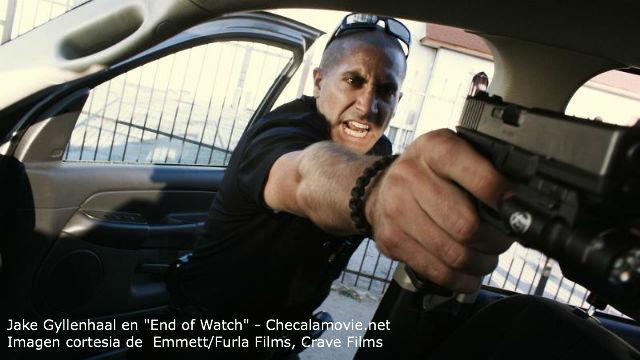 """""""End of Watch"""" te lleva a recorrer el mundo de la delincuencia en LA desde una perspectiva distinta y muy real."""