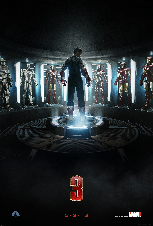 "Nuevo póster de ""Iron Man 3"""