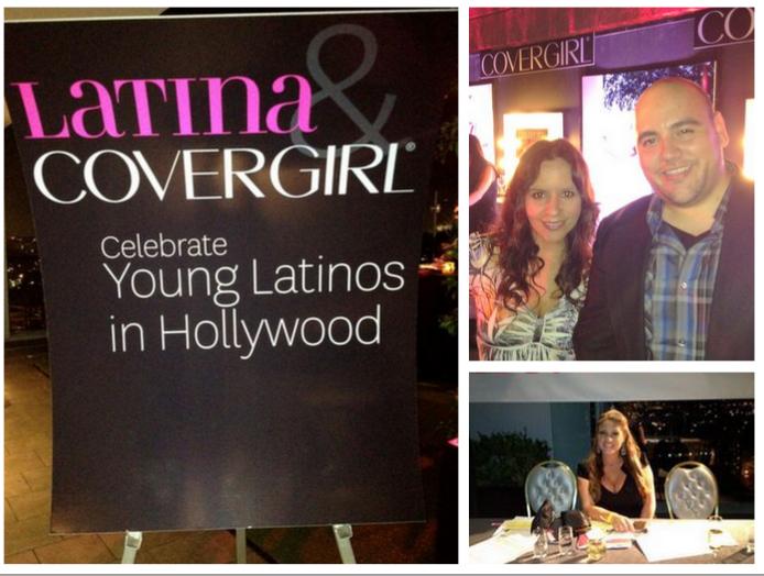 Gracias a Latina Magazine y Cover Girl por la invitación.