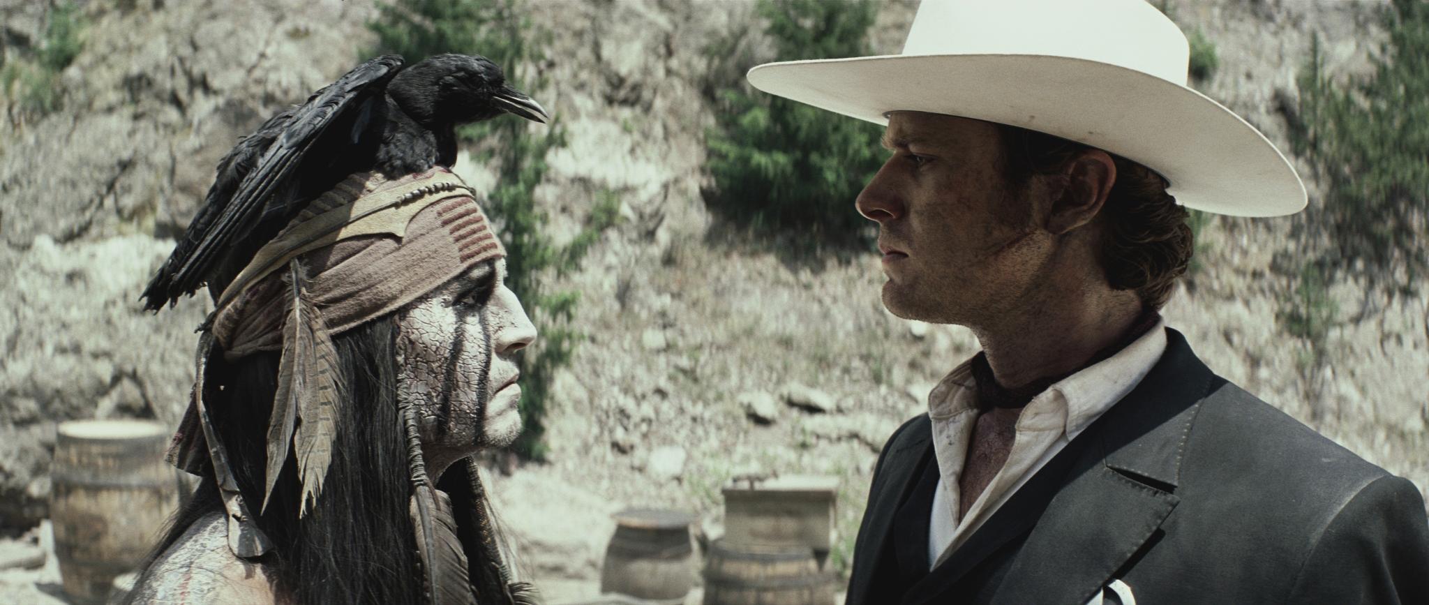 """Nuevo trailer """"The Lone Ranger"""" con Johnny Depp y Armie Hammer."""