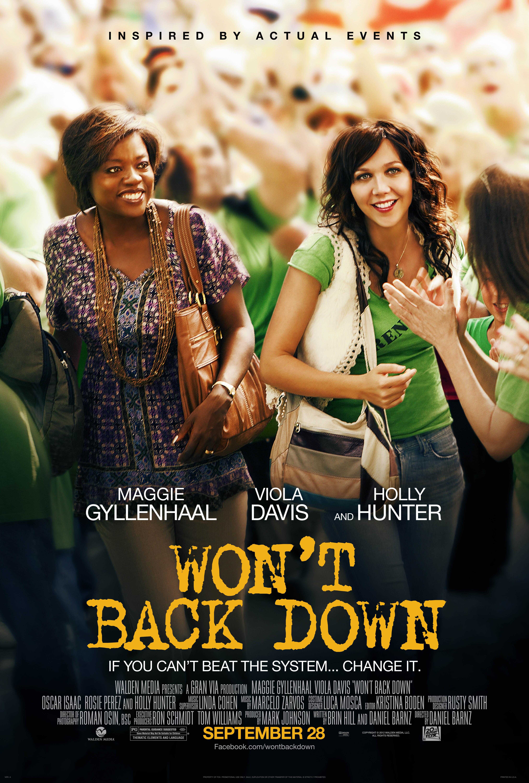 """Reseña """"Won't Back Down"""": ¿ Logrará crear conciencia ?"""