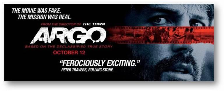 Sorteo Gana Pases ARGO / Won ARGO Movie Passes.