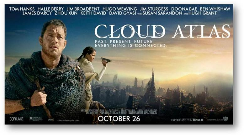 "Sorteo ""Cloud Atlas: Descubre tus conexiones pasadas, Discover Your Past Connections""."