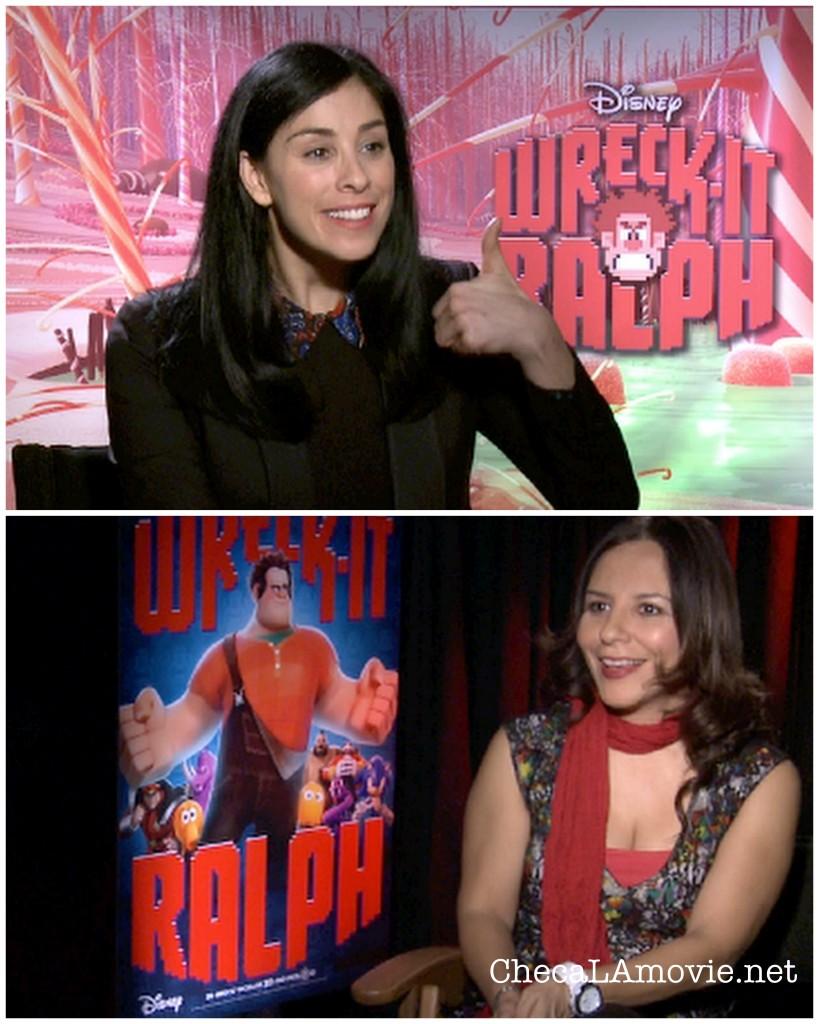Entrevista con Sarah Silverman la Voz de Vanellope.