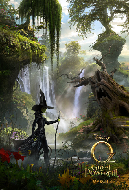 "Regresa el Mago de Oz a los cines con el sello Disney: ""Oz The Great and Powerful""."