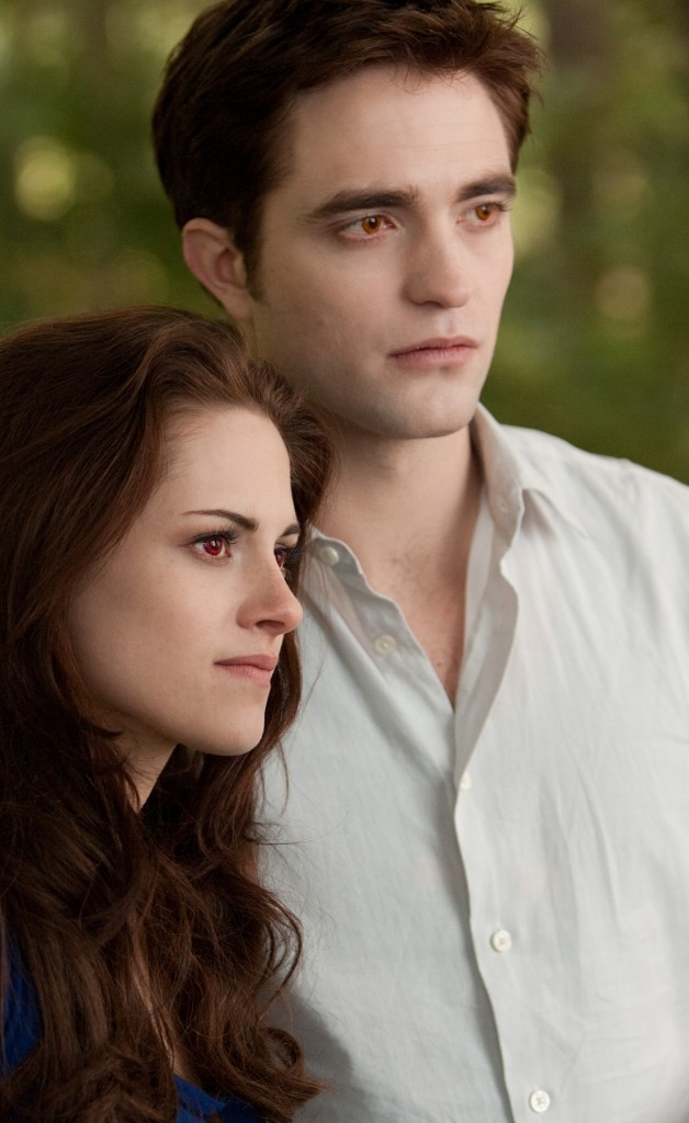 KRISTEN STEWART and ROBERT PATTINSON star in THE TWILIGHT SAGA: BREAKING DAWN-PART 2