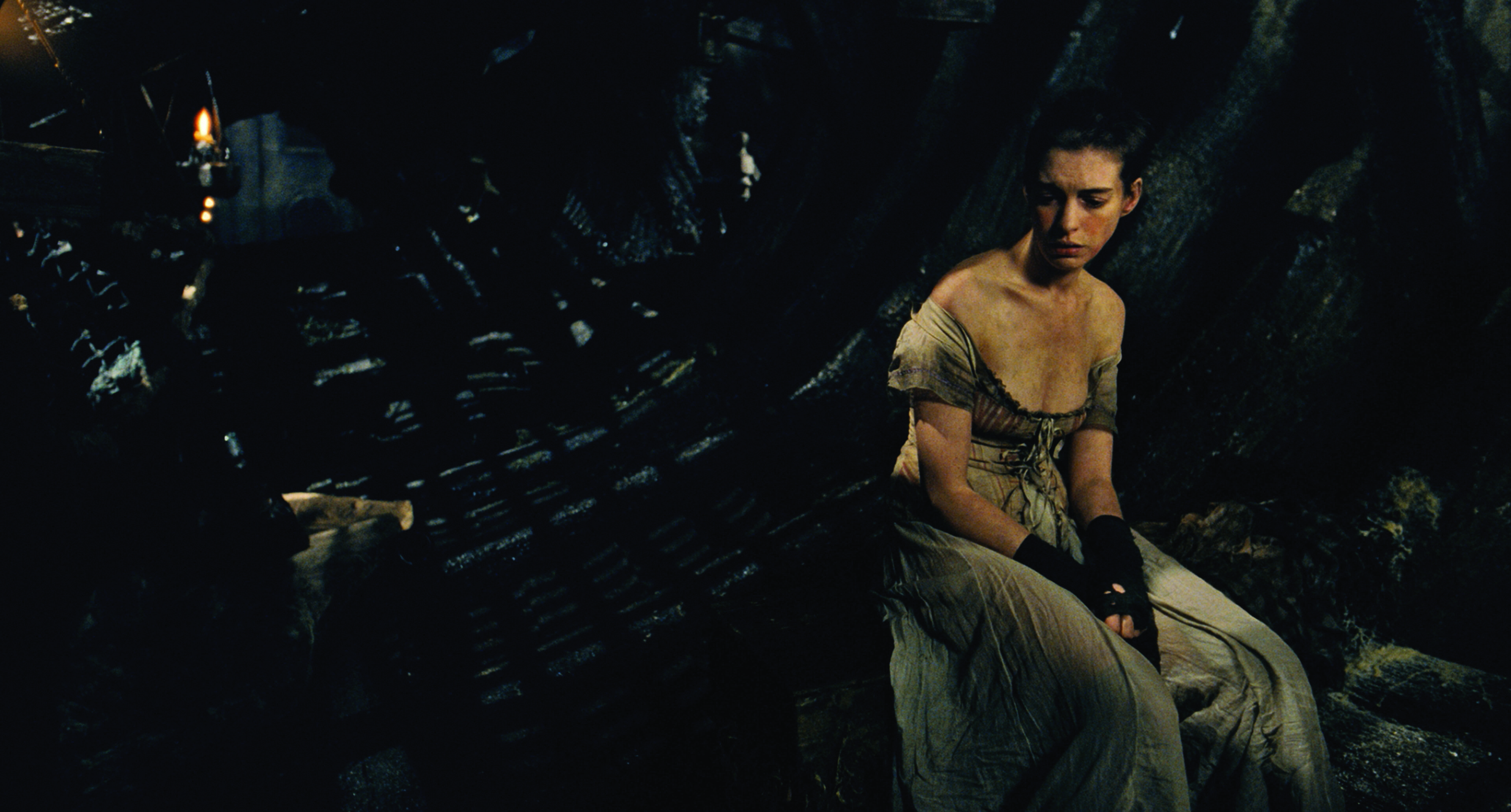 "ANNE HATHAWAY as Fantine in ""Les Misérables"", the motion-picture adaptation of the beloved global stage sensation seen by more than 60 million people in 42 countries and in 21 languages around the globe and still breaking box-office records everywhere in its 28th year."