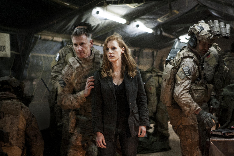 """Jessica Chastain: la mujer detrás de la captura de Osama Bin Laden en """"Dark Zero Thirty""""."""