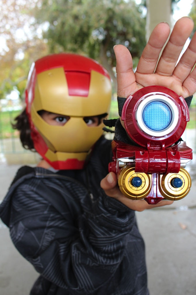 Como Iron Man #Hasbro