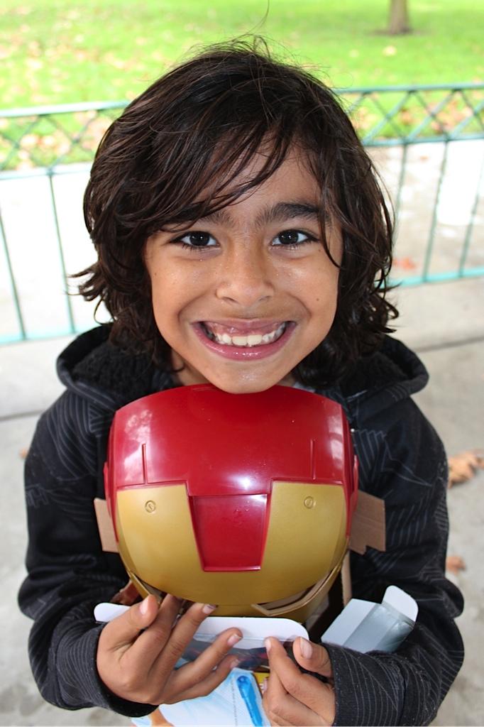 """Sorteo #HasbroHolidays. Gael y su experiencia al estilo """"Iron Man""""."""