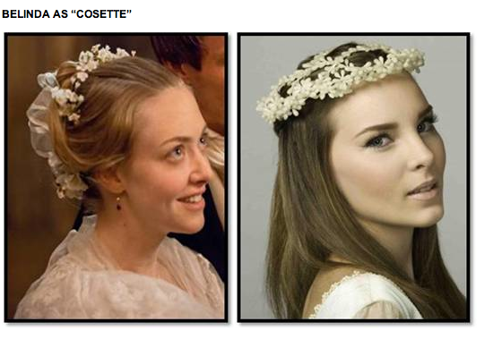 "BELINDA AS ""COSETTE"""