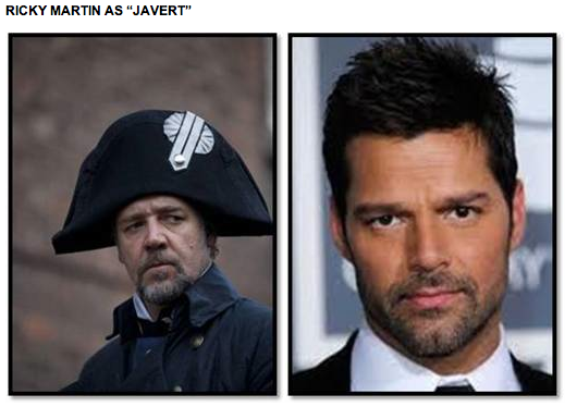 "RICKY MARTIN AS ""JAVERT"""