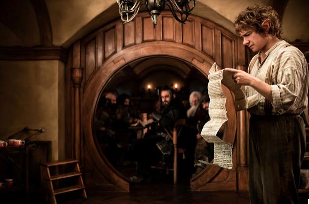 "¿Quieres ir al screening de ""The Hobbit: An Unexpected Journey"" ? Te invito."