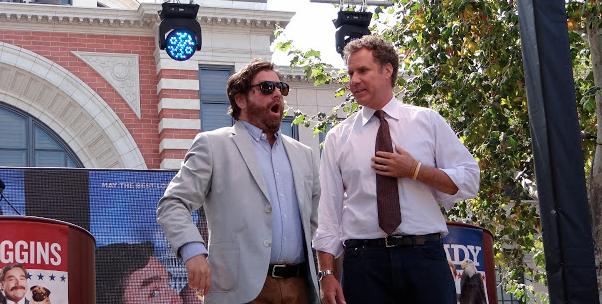 Recorriendo el 2012… Julio: Ferrell y Galifianakis inician campaña The Campaign.