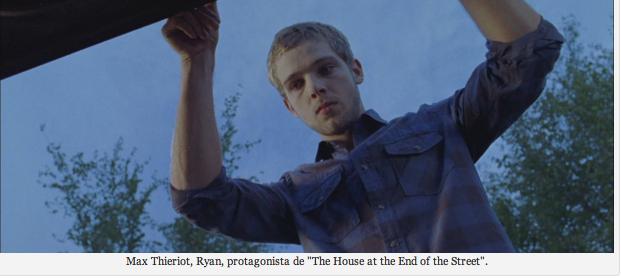 Recorriendo el 2012…Septiembre: Max Thieriot explica en español sobre La Casa al final de la Calle.