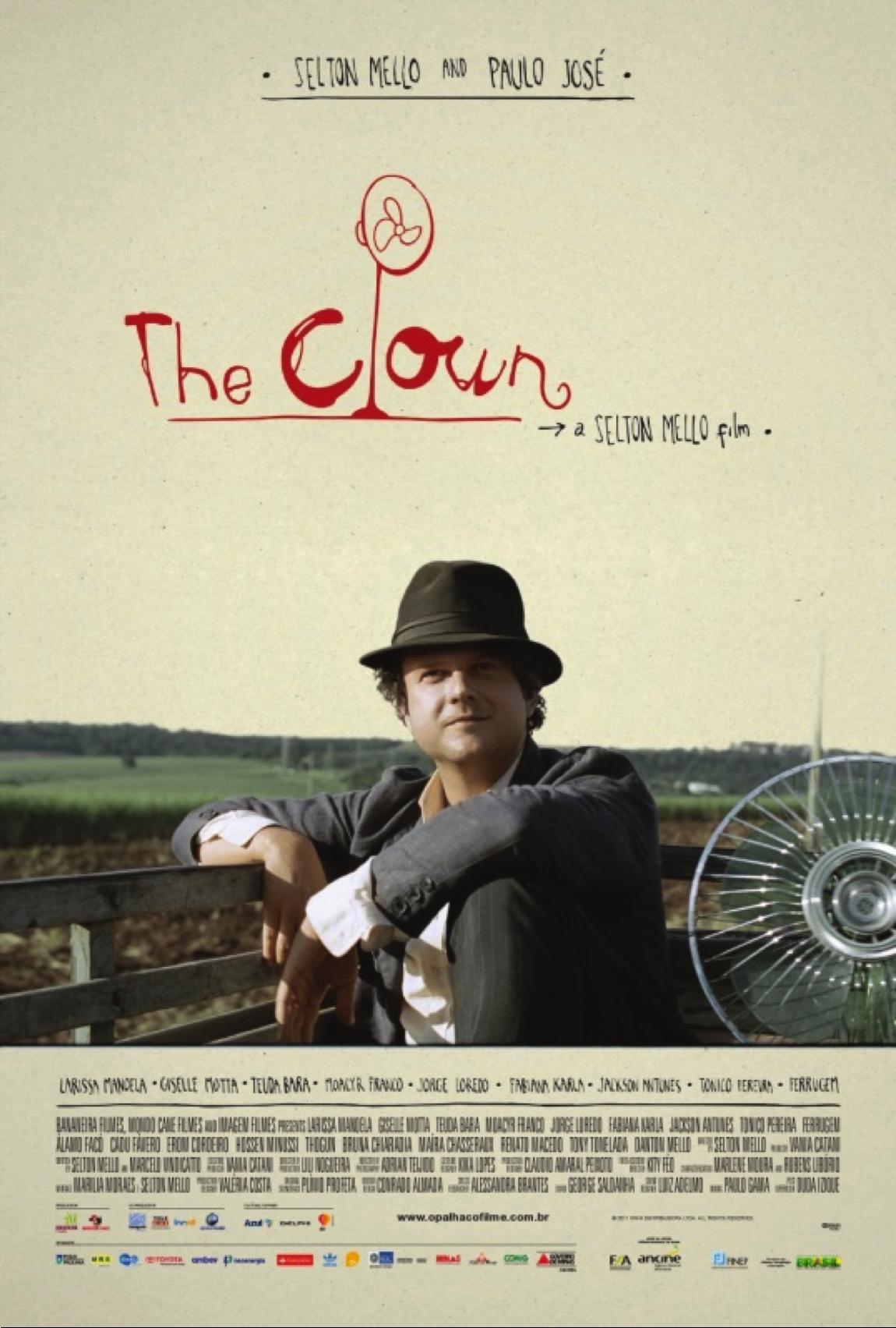 """""""The Clown"""" / """"O Palhaço"""" compite por el Oscar. Brazil mejor película extranjera."""