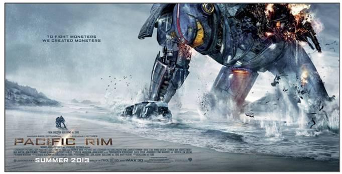 Trailer de Pacific Rim la nueva cinta de Guillermo del Toro.