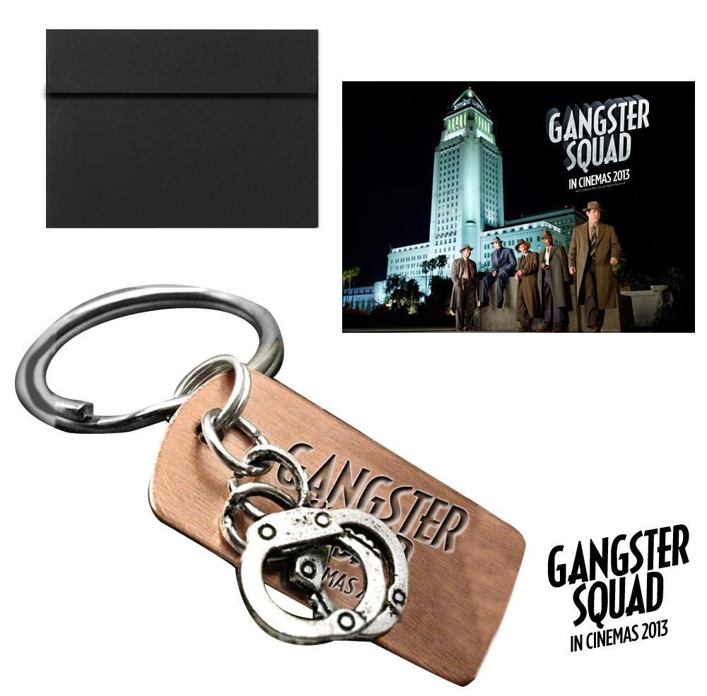 Llavero Gangster Squad.