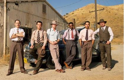 "Vamos al screening de ""Gangster Squad""."