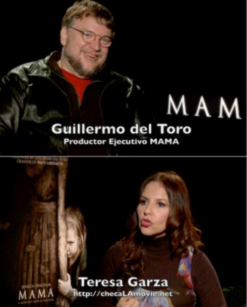 "Video Entrevista: Guillermo del Toro presenta ""MAMA""."