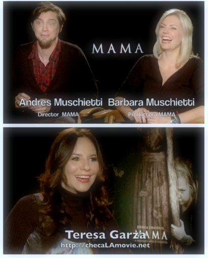 "Video entrevista con Andrés Muschietti y su debut como director en Hollywood con ""Mamá""."