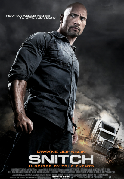 "Dwayne Johnson interpreta a un padre desesperado en ""Snitch""."
