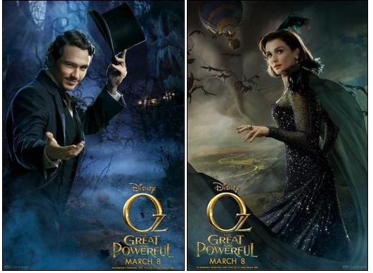 "Avances de películas en el Super Bowl: ""Oz The Great and Powerful""."