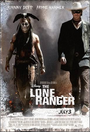 """Avances de películas en el Super Bowl: """"The Lone Ranger""""."""