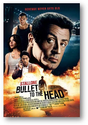 "Sorteo ""Bullet to the Head"", la nueva peli con Sylvester Stallone."