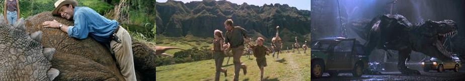 """""""Jurassic Park"""" regresa a la pantalla grande."""