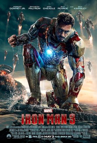 """Nuevo trailer y pósters de los personajes de """"Iron Man 3""""."""