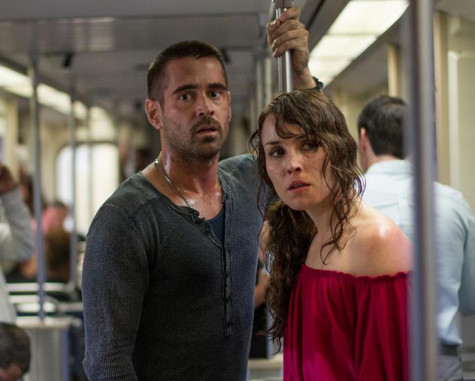 Colin Farrell y Noomi Rapace juntos en una cinta de suspenso.