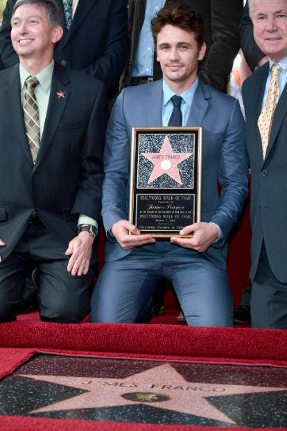 James Franco ya tiene su estrella en Hollywood.