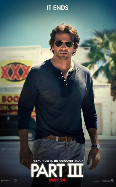 """Nuevo Trailer de """"The Hangover Part III"""" …. Siguen con la cruda Bradley Cooper y su pandilla."""