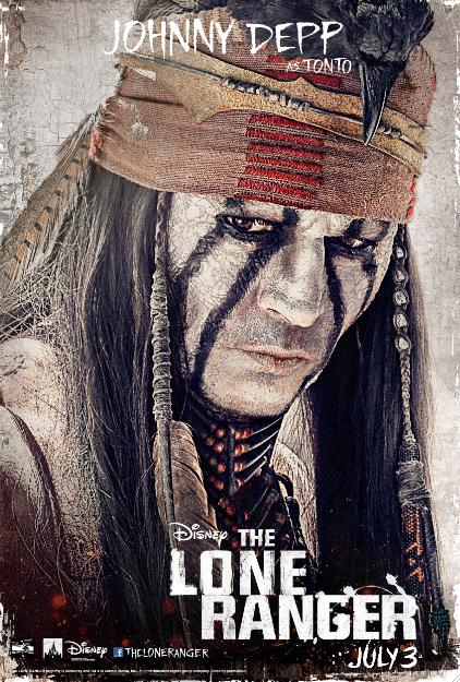 Hi-yo, Silver! Ya llegaron los pósters y el trailer del Llanero Solitario / The Lone Ranger