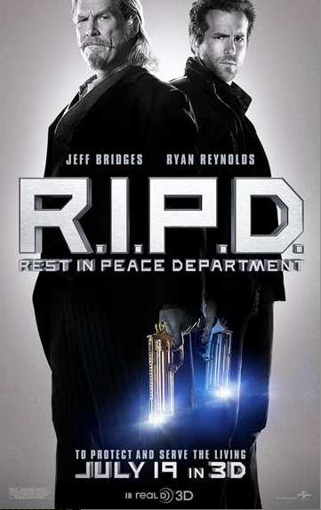 Jeff Bridges y Ryan Reynolds viven una aventura sobrenatural de acción en 3D.