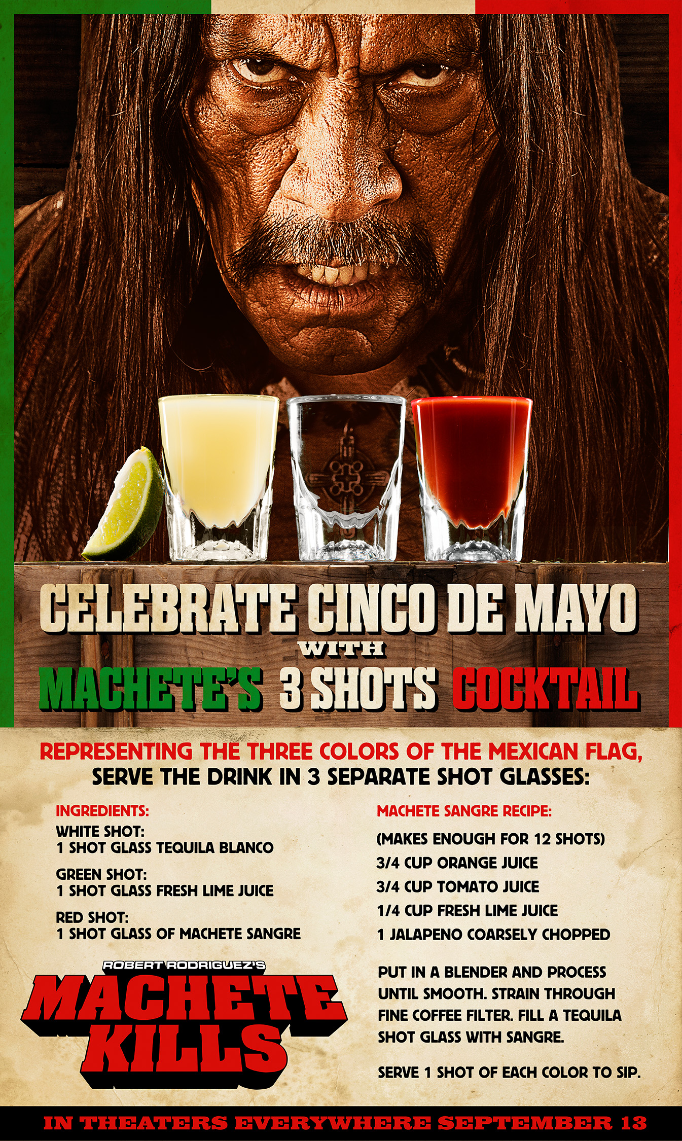 """Machete"" celebra el ""Cinco de Mayo""."