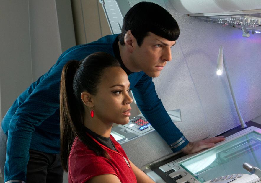 """Zoe Saldana y su segundo viaje intergaláctico en """"Star Trek: Into Darkness""""."""