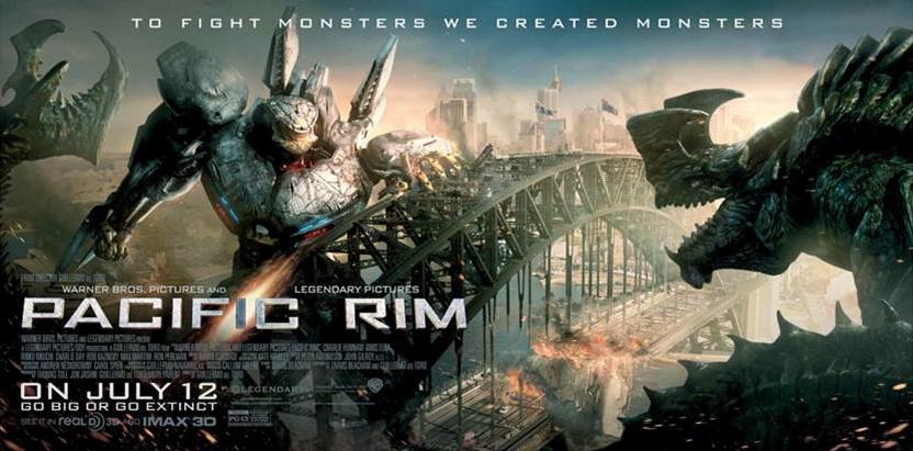 """Ya salió el trailer de """"Pacific Rim"""".  Guillermo del Toro y su oda a los monstruos gigantes."""