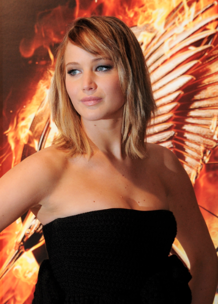 Jennifer Lawrence, el Festival de Cannes y CoverGirl.  #CannesCatchingFire