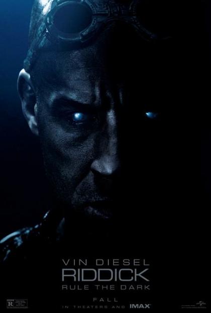 """Regresa el antihéroe """"Riddick"""" con Vin Disel."""