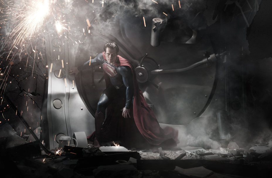 """Cada vez más cerca """"Man of Steel"""". El """"Superman"""" de Snyder."""