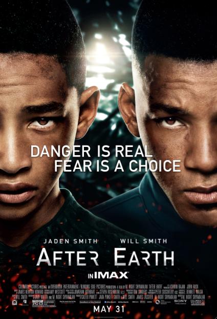 """Reseña """"After Earth"""": Desde la perspectiva de una jovencita."""