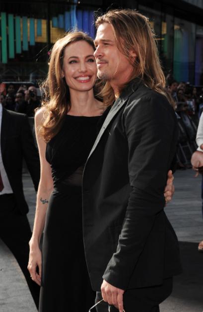 "Espectacular la premiere mundial de ""World War Z"". Brad Pitt, Angelina Jolie y Muse en Londres."