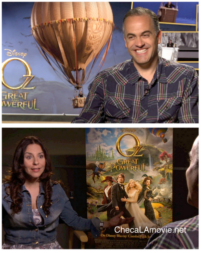 "Reto del conocimiento con el Supervisor de Efectos Visuales ""Oz The Great and Powerful""."