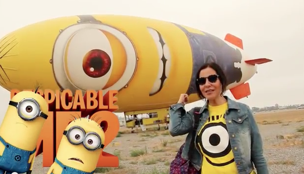 """Despicable Me 2""…Aventura en el #Despicablimp."