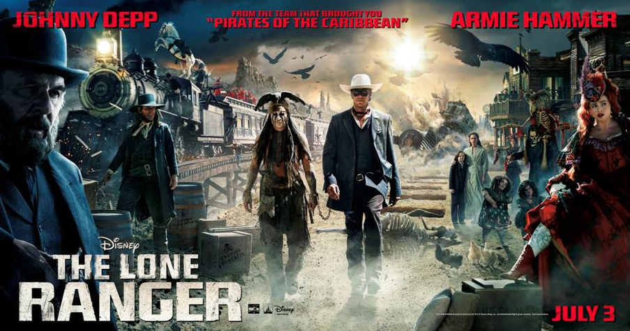 """#VamosLoneRanger Screening """"The Lone Ranger"""" en Los Angeles.  ¿Te apuntas?"""