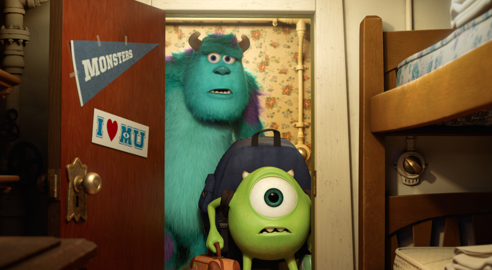 "Reseña ""Monsters University"": monstruosamente divertida."