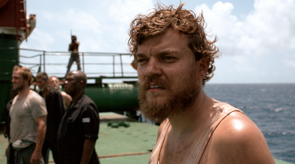 Pilou Asbæk in A HIJACKING, a Magnolia Pictures release. Photo courtesy of Magnolia Pictures.
